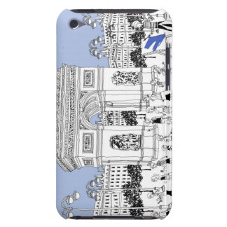 Utsmyckad grind Case-Mate iPod touch skydd