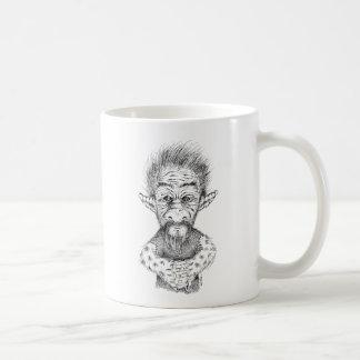 Utsmyckat troll kaffemugg