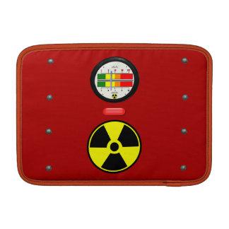 Utstrålning Geiger kontrar verkställer Macbook MacBook Air Sleeve