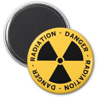 Utstrålningssymbolmagnet Magnet