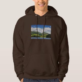 UtterCove och bergAcadianationalpark Sweatshirt Med Luva