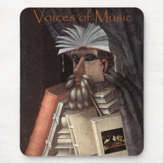 Uttrycker av musikbibliotekariemuggen musmatta