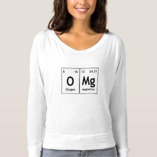 Uttrycker det periodiska bord för OMg kemi T Shirt