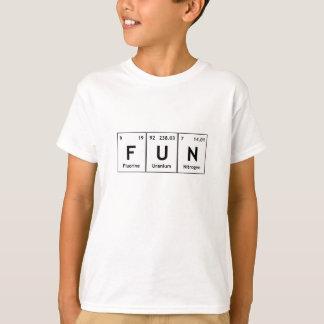Uttrycker det periodiska bord för ROLIG kemi T-shirts