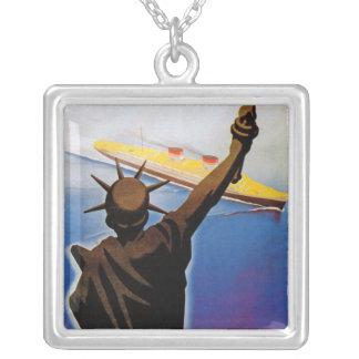 Uttryckliga Nordamerika Silverpläterat Halsband