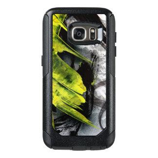 Uttrycksfull Grungestruktur borstar slår OtterBox Samsung Galaxy S7 Skal