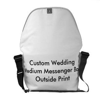 Utvändigt tryck personligt bröllpför kurir väskor