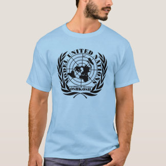 UWO modellerar UN - logotypskjorta - XL Tshirts