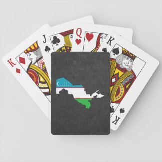 Uzbekisk resasouvenir spelkort