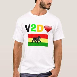 v2dheart-rastafarival tee shirts
