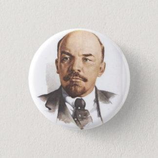 V.I. Lenin klämmer fast Mini Knapp Rund 3.2 Cm