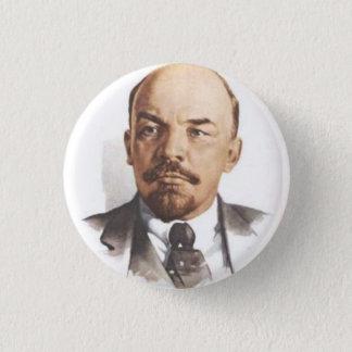 V.I. Lenin knäppas Mini Knapp Rund 3.2 Cm