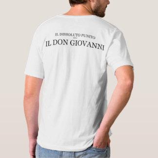 V-nacke för T-tröja för universitetslärareGiovanni T Shirt