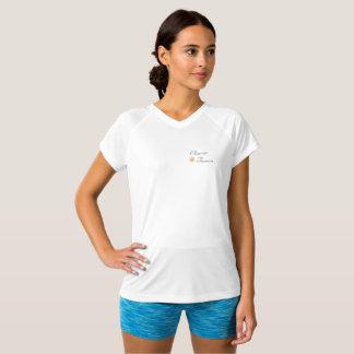 V - nacketechskjorta tröja