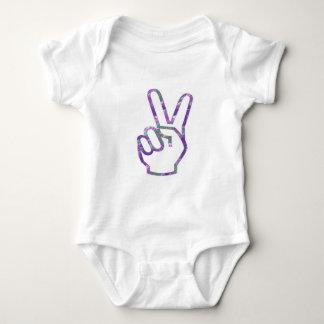 V-SEGERN räcker fingersymbol Tee Shirt