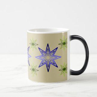 Väcka stjärna på elfenben magisk mugg