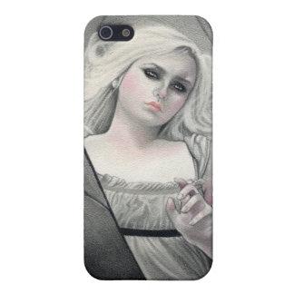 Väckt Vampiress Speckfodral iPhone 5 Skydd