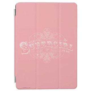 Vad är en Supergirl som gör rosor iPad Air Skydd