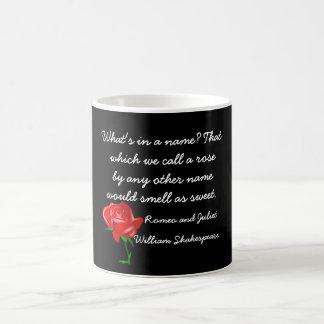 Vad är i ett namn - Shakespeare Kaffemugg