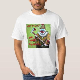 """""""Vad är så rolig?"""", Utslagsplats T-shirts"""