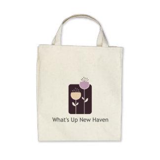 Vad är upp New Haven livsmedeltoto Tote Bag