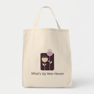 Vad är upp New Haven livsmedeltoto Mat Tygkasse