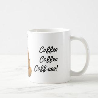 Vad dricker räven? Kaffemugg