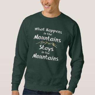 Vad händer i bergstagen i Mtnsen Sweatshirt