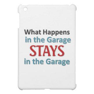 Vad händer i garage iPad mini fodral
