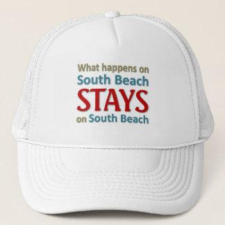 Vad händer på södra strand truckerkeps