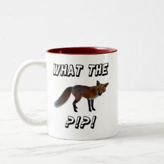 Vad räven?!?!? Två-Tonad mugg