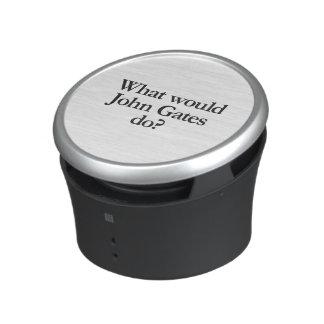 vad skulle, gör john grindar högtalare