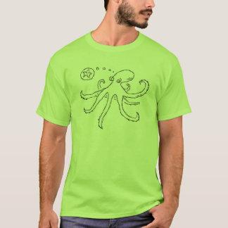 vad tänker en bläckfisk omkring? tröja