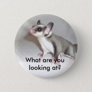 Vad tittar du? standard knapp rund 5.7 cm