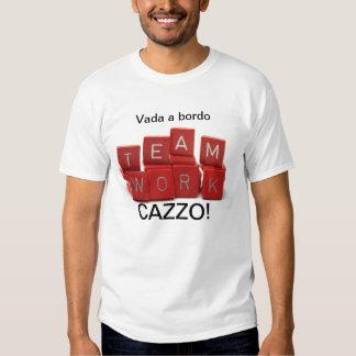 VADA EN TEAMWORKSKJORTA FÖR BORDO CAZZO T-SHIRTS