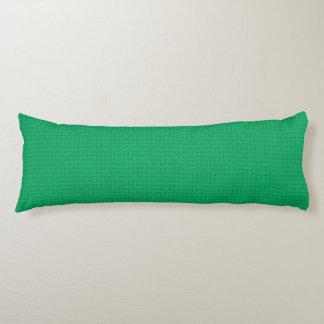 Vadderad smaragd kroppskudde