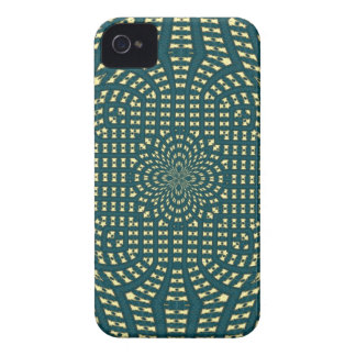 Vadderad tygblackberry fodral iPhone 4 Case-Mate fodral