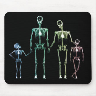 vadderar den skelett- musen för den kalla röntgens musmattor