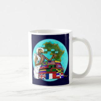 """""""Vadderar Diaspora"""" den keramiska muggen Kaffemugg"""