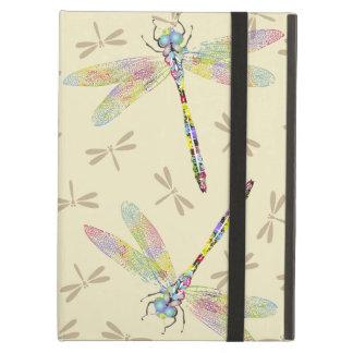 Vadderar elegant färg plaskade sländor Powis luft Fodral För iPad Air