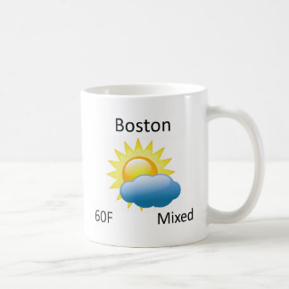 väder Boston Kaffemugg