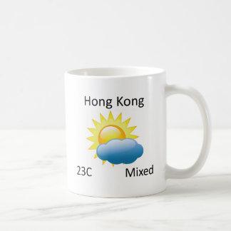 väder Hong Kong Kaffemugg