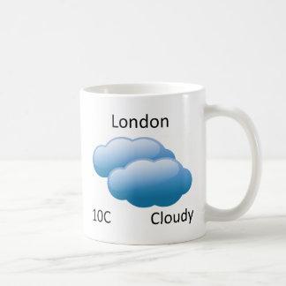 väder London Kaffemugg