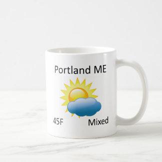 väder Portland MIG Kaffemugg