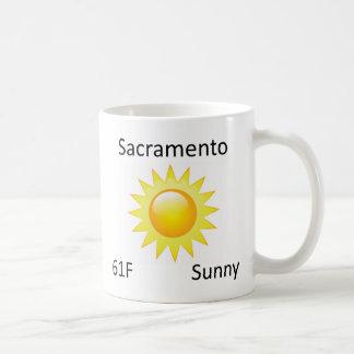 väder Sacramento Kaffemugg