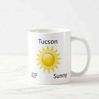 väder Tucson Kaffemugg