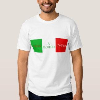 Vado en bordoCazzo t-skjorta Tee Shirt