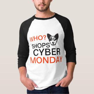 Vadow som shoppar CyberMåndag manar T-tröja Tshirts