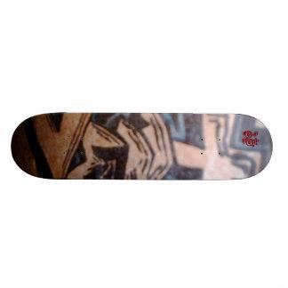 Vädra skridskon stiger ombord skateboard bräda 19,5 cm