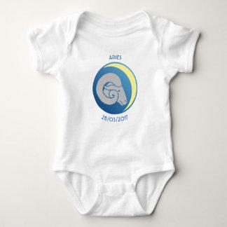 Vädur för stjärnteckenbabyVest Tee Shirts